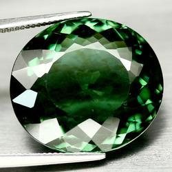 Pristine 38.39ct AAA created green Amethyst