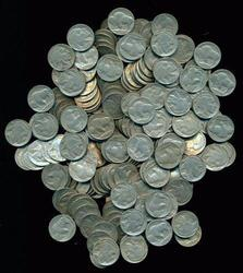 Larger Bag of 200 Full Date Buffalo Nickels