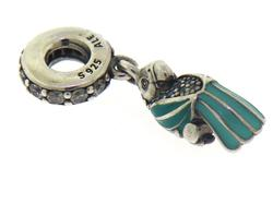 Pandora Sterling Silver Parrot Charm