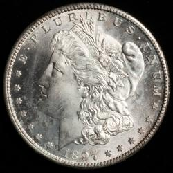 Choice Uncirculated 1897 S Morgan