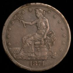 1874 S Trade Dollar