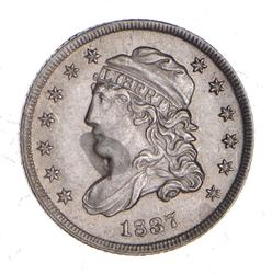 1837 Capped Bust Half Dime - Near Uncirculated