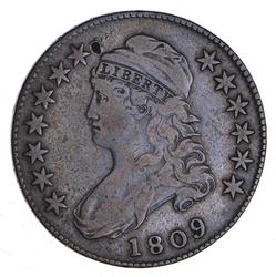 1809 Capped Bust Half Dollar - O-113 - Circulated