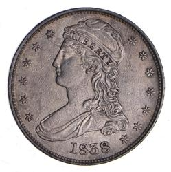 1838 Capped Bust Half Dollar