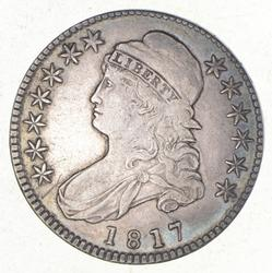 1817 Capped Bust Half Dollar - O-109