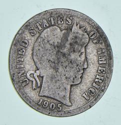 1905-O Barber Dime - Micro O