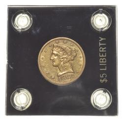 1847 $5.00 Liberty Head Gold Half Eagle