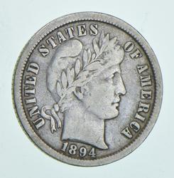 1894-O Barber Dime
