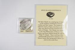 ca. 1629 Spice Islands Shipwreck Spanish 8 Reales Cob - Piece of Eight