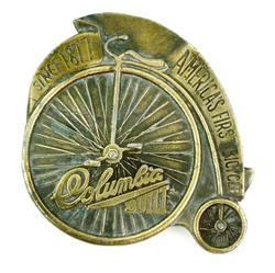 Vintage Unicycle Bicycle Belt Buckle