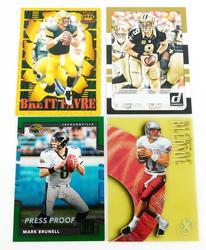 4 NFL Quarterback Football Cards