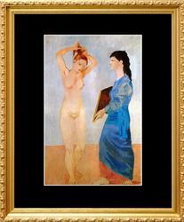 Pablo Picasso, La Toilette