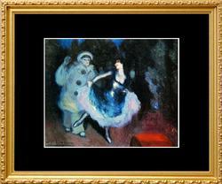 Pablo Picasso, The Blue Dancer
