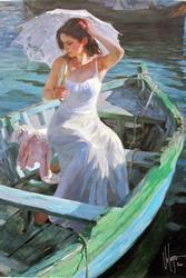 Vladimir Volegov, Lakeside Reflection