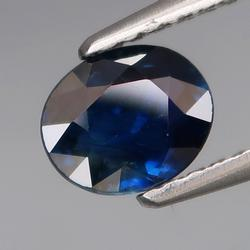 Heated only! 1.18ct royal blue Sapphire