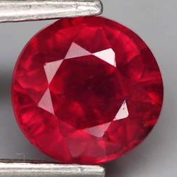 Striking 1.33ct blood red Ruby solitaire