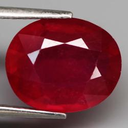 Sumptuous 4.66ct top blood red Ruby