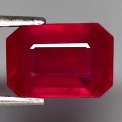 Eye catching 3ct rich blood red Ruby