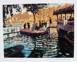 Claude Monet, La Grenouvillere