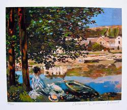 Claude Monet, The River