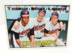 1967 The Champs - Topps #1 Baseball Card