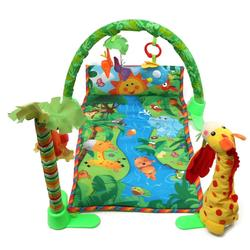Rainforest Musical Baby Infant Crawl Play Mat