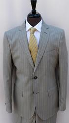 A Must Fitted Style Suit, Tailored In Italy