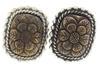 Stephen Dweck Copper & Sterling Silver Earrings