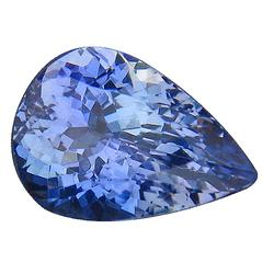 Lightly saturated 2.10ct glittering Tanzanite