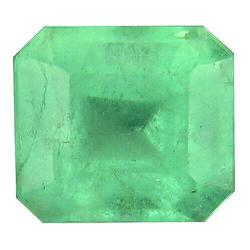 Vivid green 2.50ct transparent Colombian Emerald