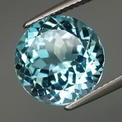 Vibrant 8.07ct high fire eye clean Topaz solitaire