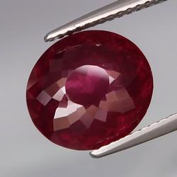 Fantastic 6.37ct violet red untreated Garnet