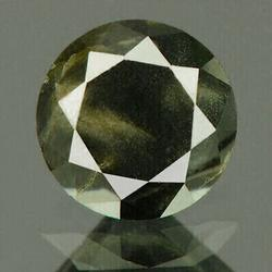 Untreated .40ct loose natural black and gray Diamond