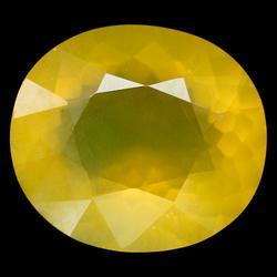 Glistening 18.22ct 20mm golden Fire Opal