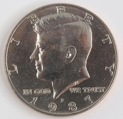 1987 Kennedy Half Dollar