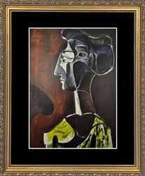 Vintage Pablo Picasso From 'Picasso At 90'