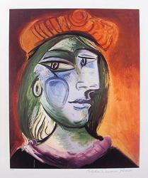 Pablo Picasso, Woman With A Beret