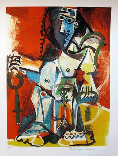 Pablo Picasso, Sitting Figure