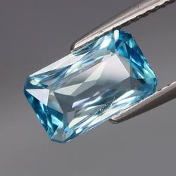 VIVID! 3.37ct top Swiss blue Zircon