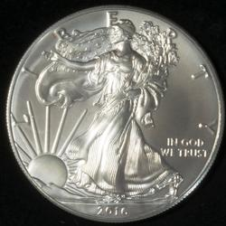 Frosty White Uncirculated 2016 Silver Eagle