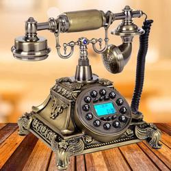 Bronze Retro Vintage Antique Telephone