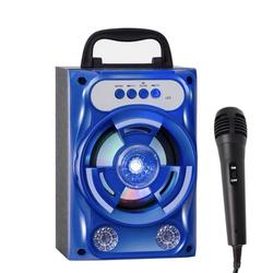 10W Portable Wireless Bluetooth Speaker with Microphone