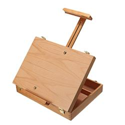 Wooden Easel Box Sketchbox Painting Storage Box