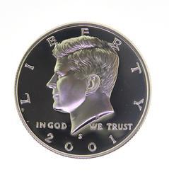 2001 Kennedy Half Dollar