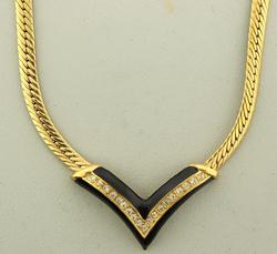 Vintage Gold Plated Custom Jewerly Necklace