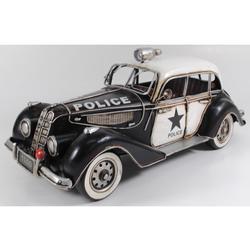 1939 BMW 335 Police Car Tinplate Metal Car