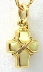 14KT Cross Pendant and Chain