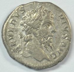 Septimius Severus Roman silver Denarius, 193-211 AD