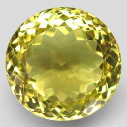 Substantial 22.02ct IF lemon yellow Citrine