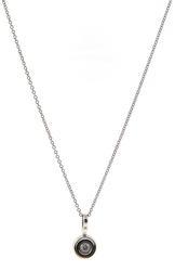 Stunning Round Brilliant Cut Bezel Set Diamond Necklace